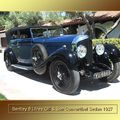 1927 - Bentley 6 litres Gill & Son Convertible sedan 1927