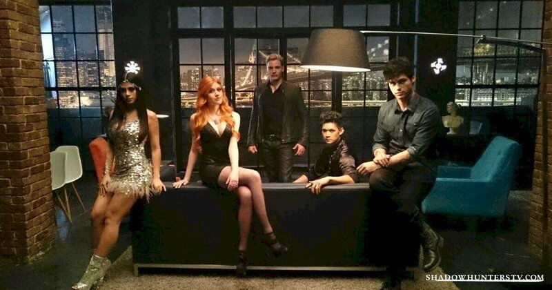 Shadowhunters TV cast