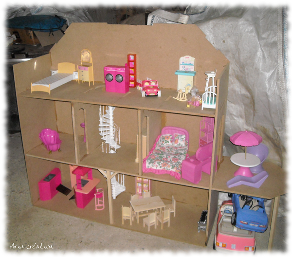 construire une maison de barbie en carton ventana blog. Black Bedroom Furniture Sets. Home Design Ideas