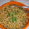 pois chiches en salade