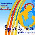Équipe synodale via internet : etape n° 2
