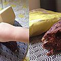 Pain au cacao et pépites de chocolat