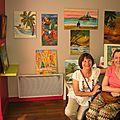 Exposition de corinne et de domi à aubagne juin 2014