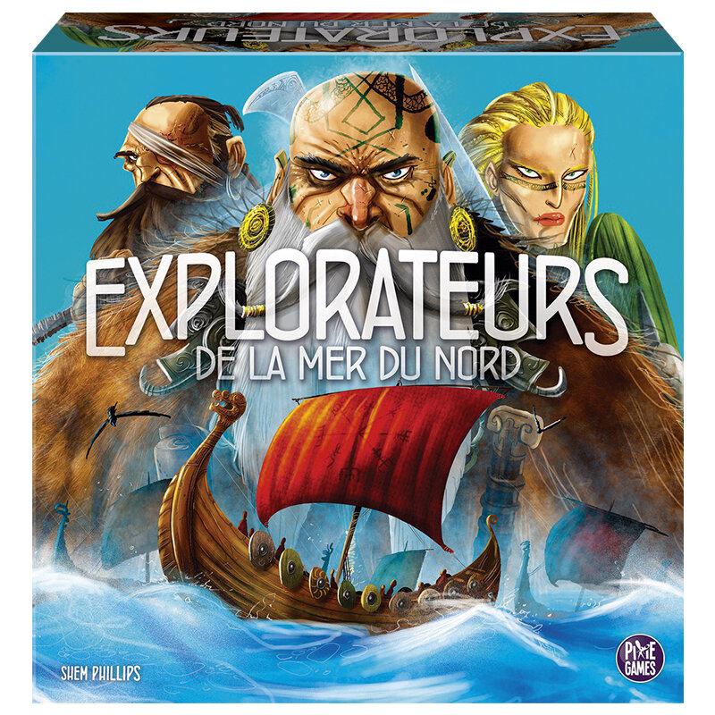 Boutique jeux de société - Pontivy - morbihan - ludis factory - Explorateurs de la mer du nord
