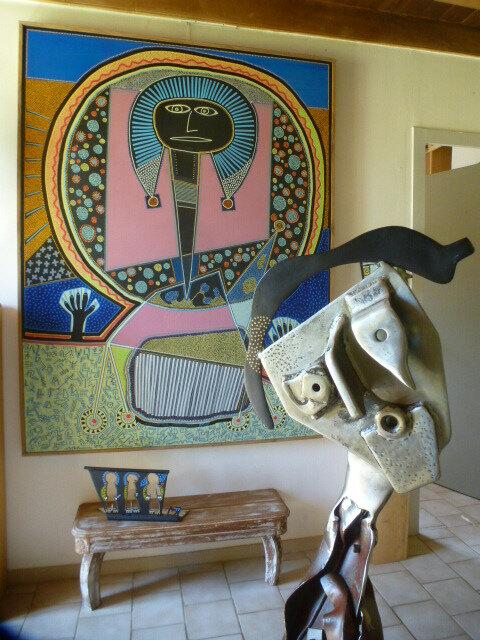 grands formats en peinture et sculpture