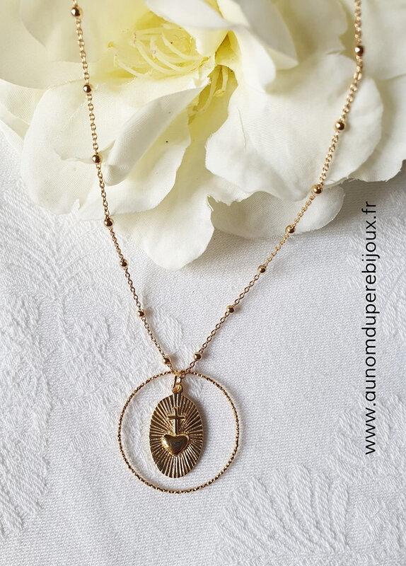 Collier Mystère de l'Eucharistie - 64 €