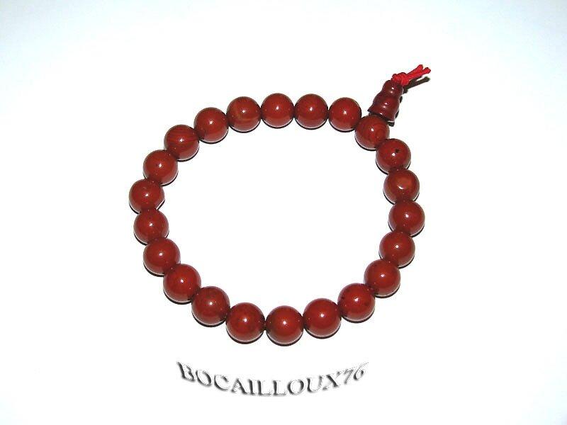 Bracelet Perles JASPE Rouge 2 (4)