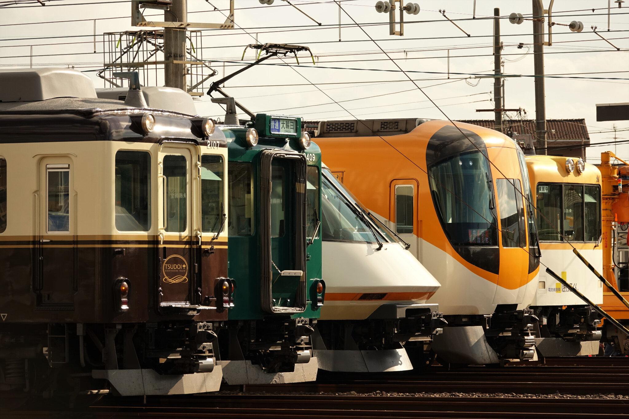 Kintetsu Trains Superstars ! Goido Kintetsu Matsuri 2018