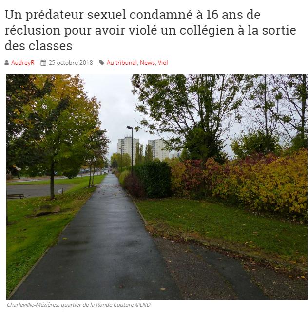 2018-11-18 20_23_36-16 ans de réclusion pour Grégory Mestre, accusé du viol d'un collégion de 11 ans
