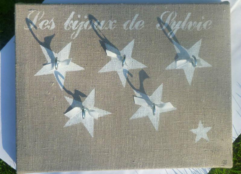 le porte-bijoux étoiles