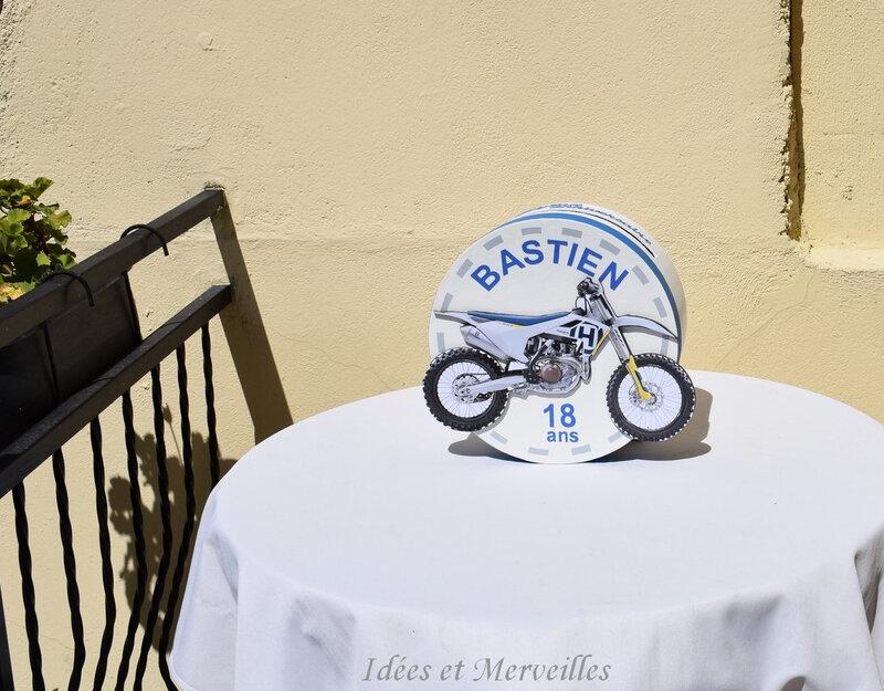 urne moto cross boite ronde - idees et merveilles 4