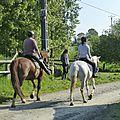 balade à cheval médiévale - Abbaye de Hambye (10)