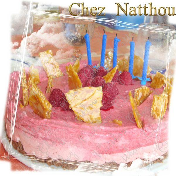 gateau fraise framboise 2