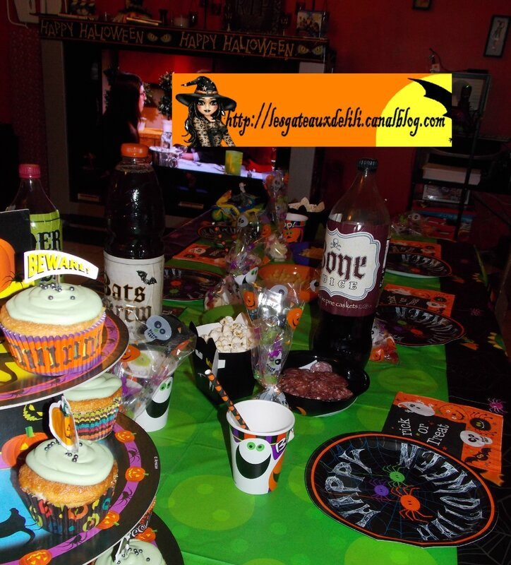 2013 10 23 - cupcakes et table halloween (5)