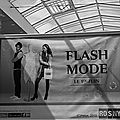 Fashion flash - flash mode rosny 2013 - fm13 in b&w