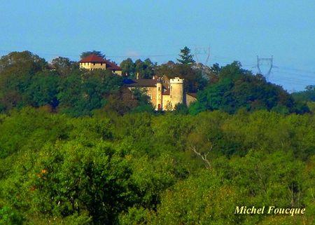 13) château de Gourdan à Niost