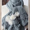 Suite collection écharpes romantiques # 2