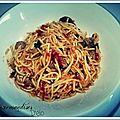 L'agneau spaghetti