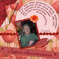 Pour ma grand-mère...