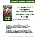 Fac des citoyens organise le 18 fevrier 2019 a 19h une conference