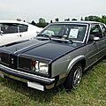 Oldsmobile omega brougham coupe, 1980