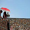Parapluies, Pont des arts_5250