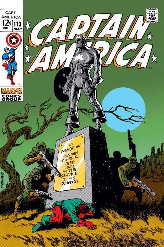captain america 1968 113