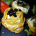 Tartelettes tatins aux poireaux et aux perles balsamiques