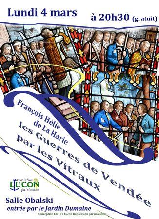 Conference sur les vitraux vendeens