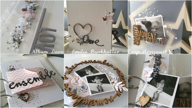 Album Love Emilie Burkhalter