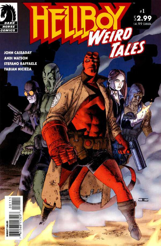 dark horse hellboy weird tales 01