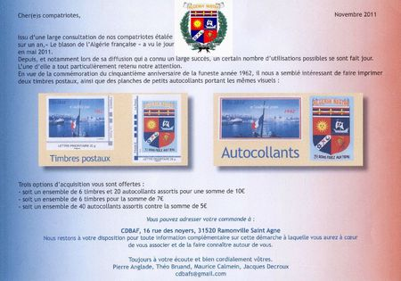 Timbres A-F