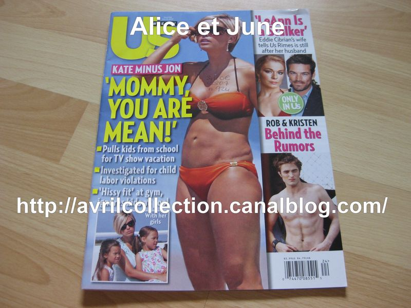 US Weekly Magazine (juillet 2009)