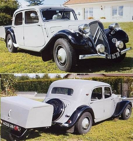 CITROEN - Traction 7 C - 1937