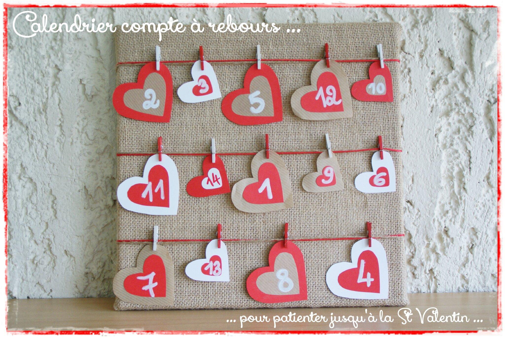 calendrier valentin