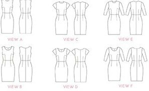 Simple Sew Patterns - Charlotte