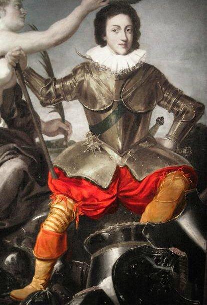 Louis XIII victorieux, 1620