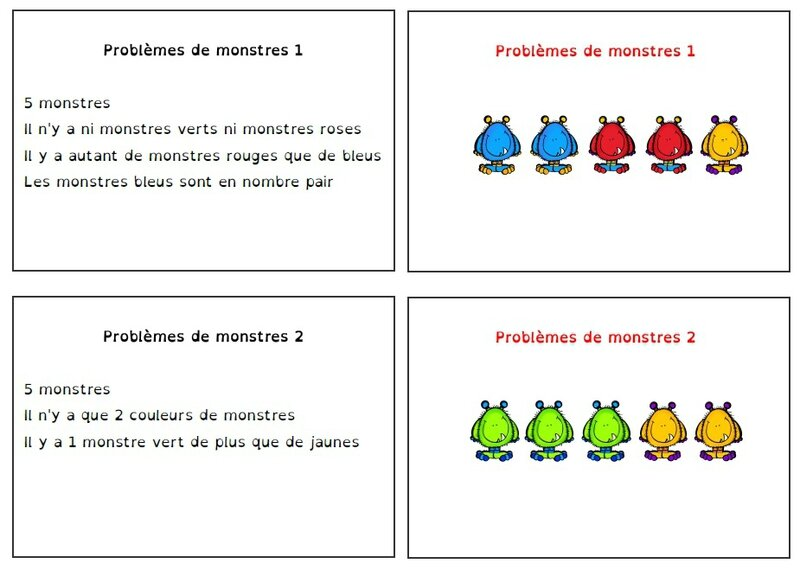 pbl monstres 1
