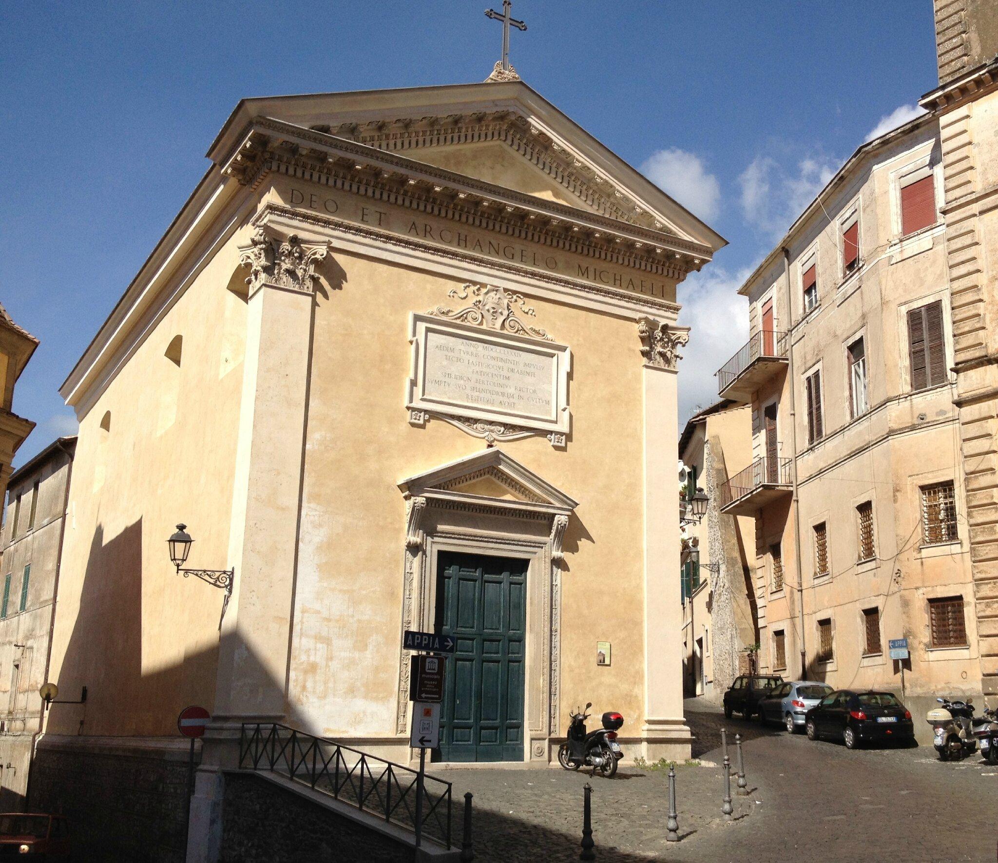 sur les pas de Juana Romani à Velletri, son berceau