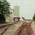 Autour de la gare d'Eauze, de 1994 à 2007