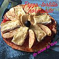 Pizza-tortilla normande