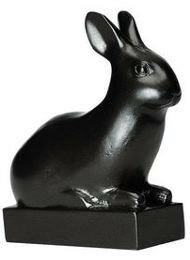 reproduction_musee_rmn_statue_lapin_20e_siecle_pompon_resine_rf005908_1