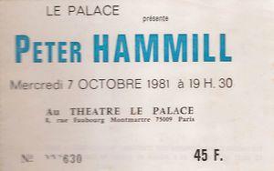 1981_10_Peter_Hammill_Palace_Billet