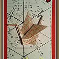 Une carte origami