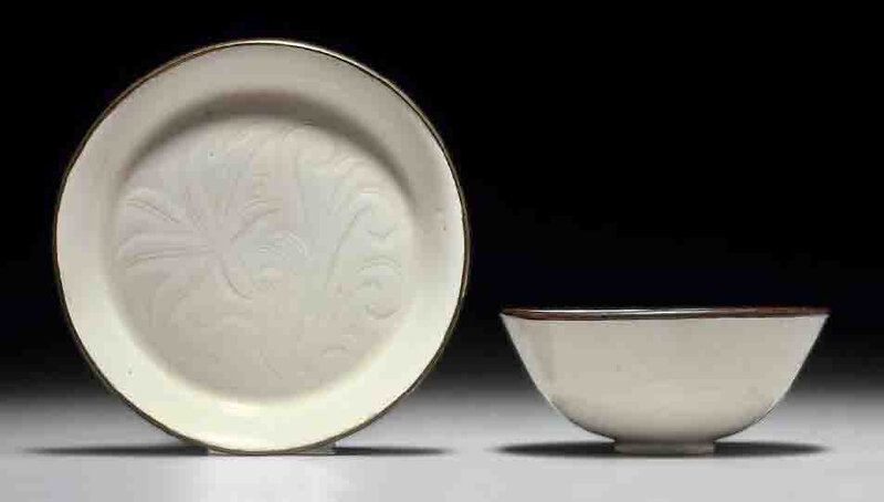 Two Small Dingyao Vessels, Northern Song Dynasty, 11th-12th Century.