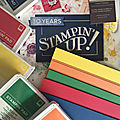 Nouveau catalogue annuel stampin'up 2018