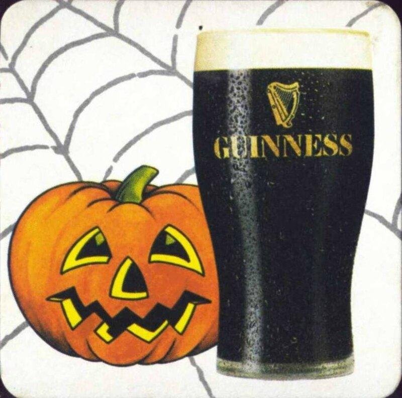 Sous-bock Halloween Guinness 2