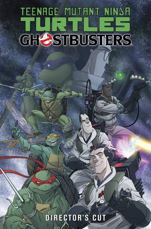 IDW TMNT ghostbusters 01 director's cut