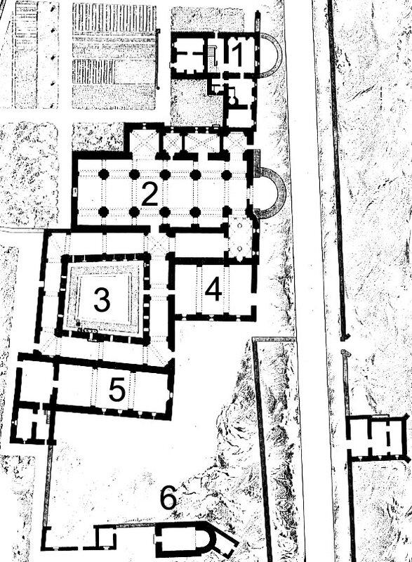 Abbaye Saint- Honorat plan c