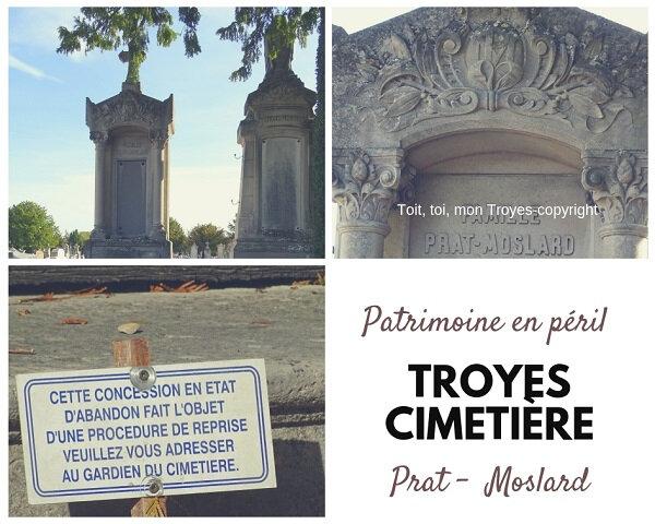 TROYES Cimetière_les chapelles en péril_Famille Prat Moslard